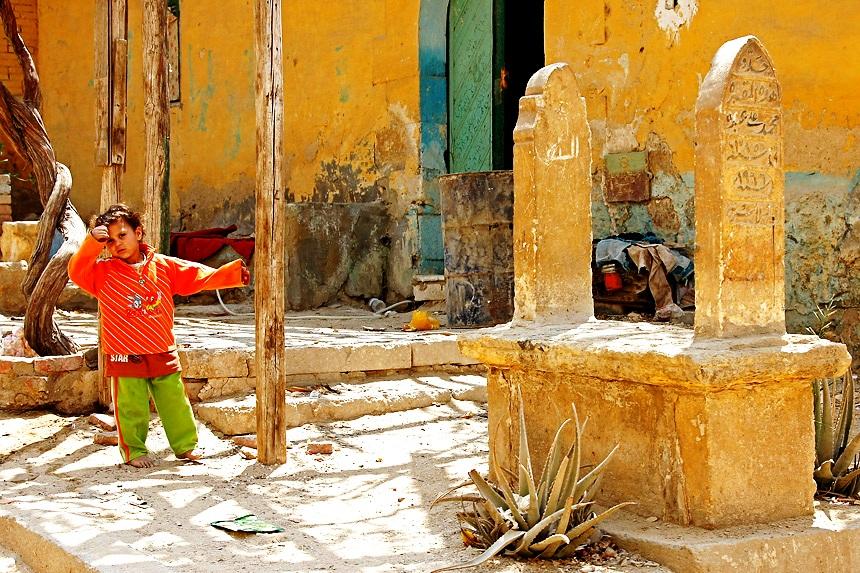 юный житель каира