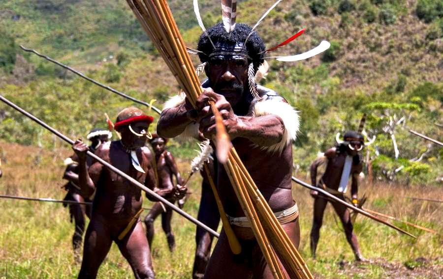 охотник племени дани
