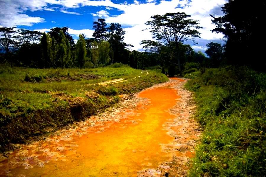 папуанские пейзажи