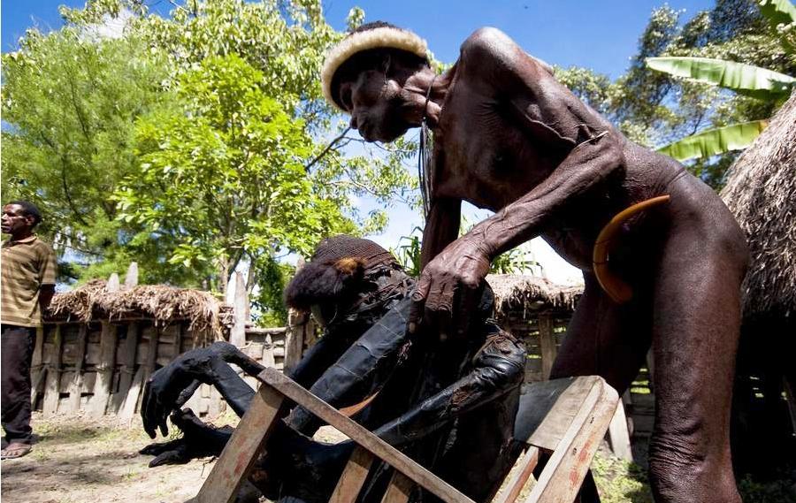 мумия папуасского предка