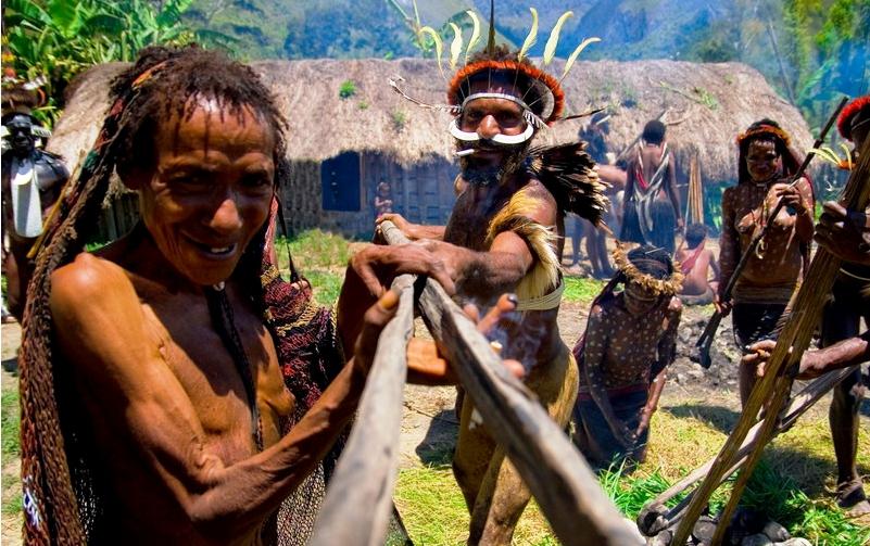 члены племени дани