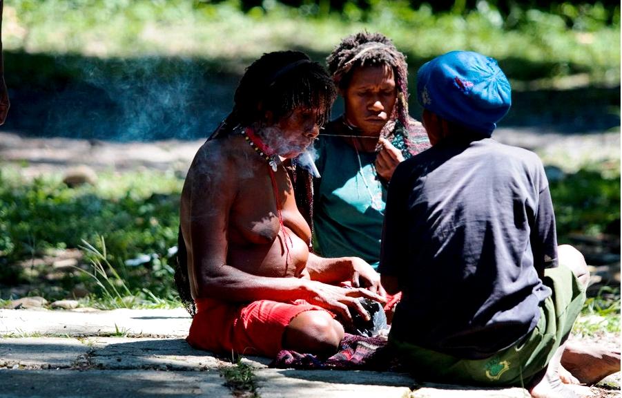 полуденный отдых в деревне дани