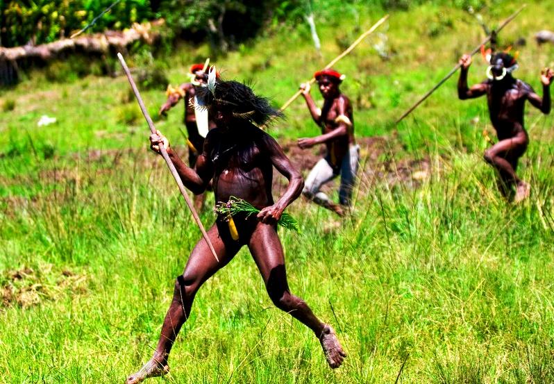боевой азарт племени дани