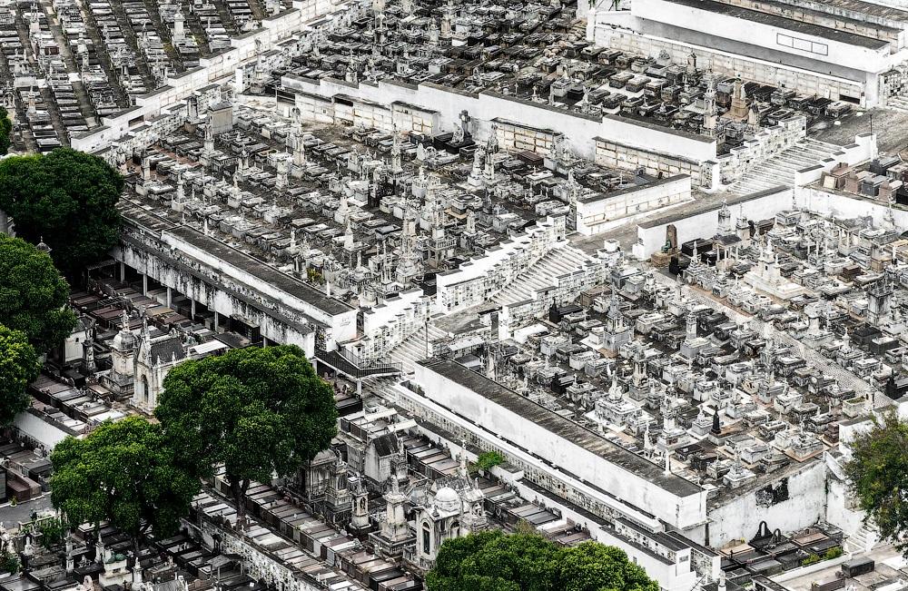 кладбище в рио