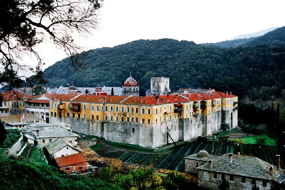 Иверский монастырь, афон