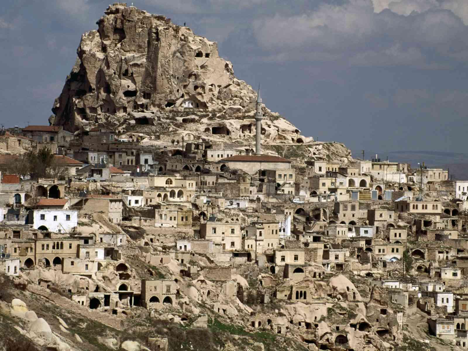 скальные жилища каппадокии