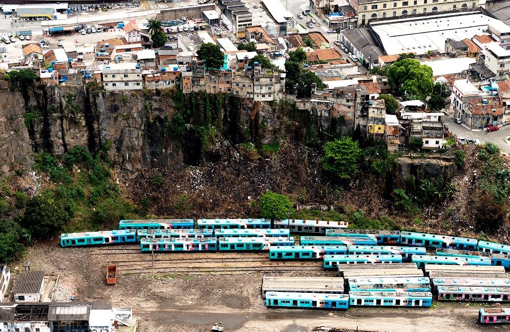 вагоны метро в Рио