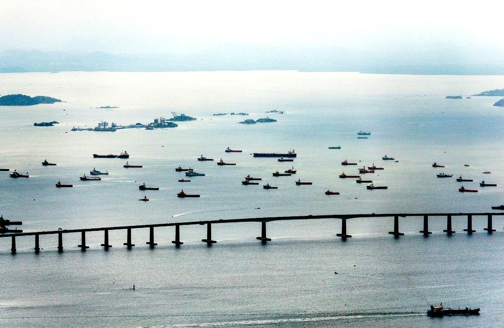мост залива Гуанабара
