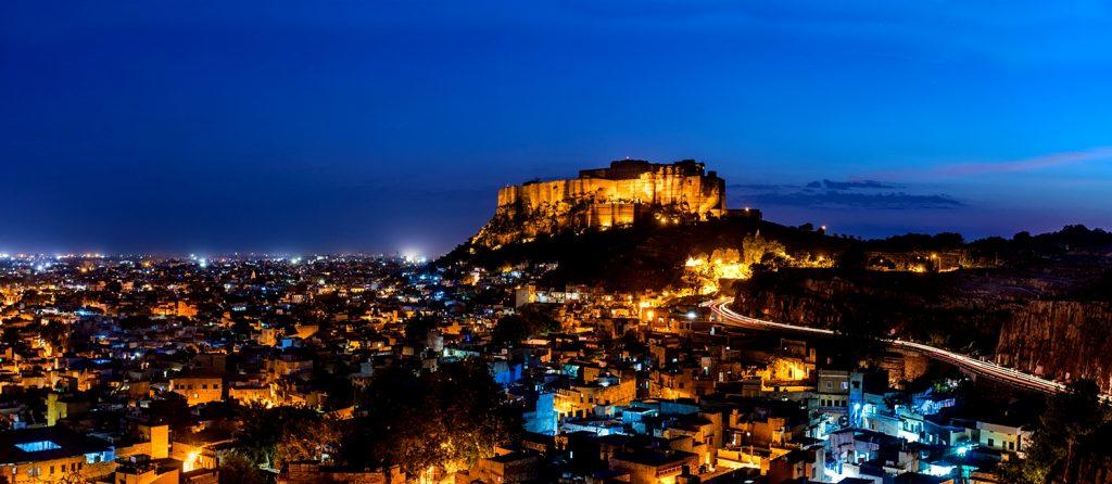 джодхпур ночью
