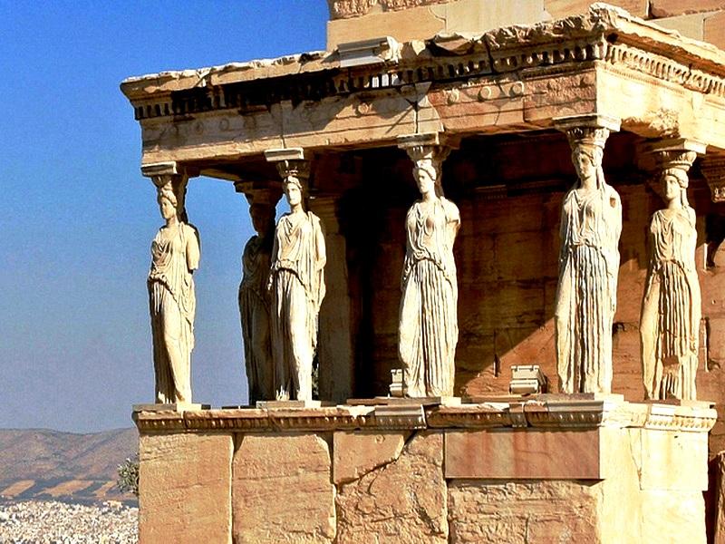 статуи Парфенона