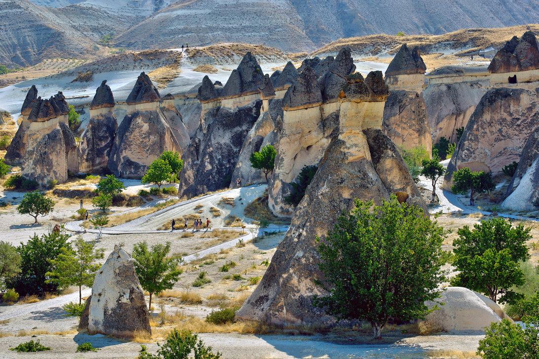 камни каппадокии