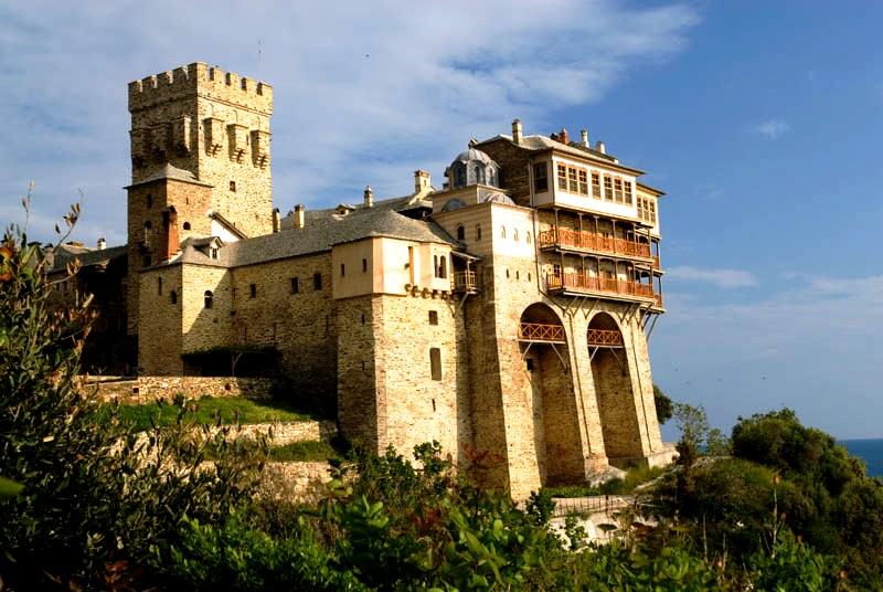 ставроникита монастырь, афон