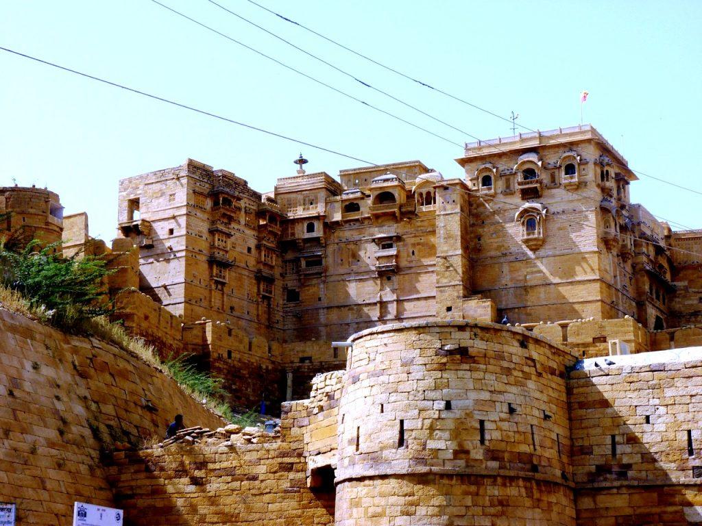 мощный форт джайсалмер