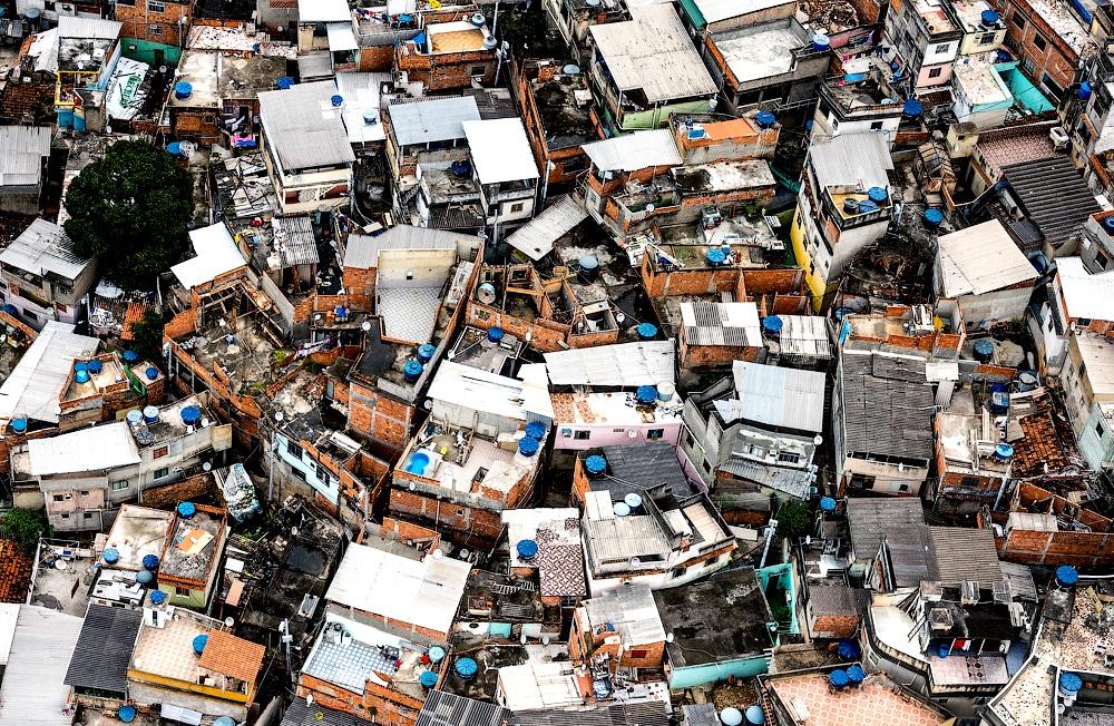 дома бедняков в Рио