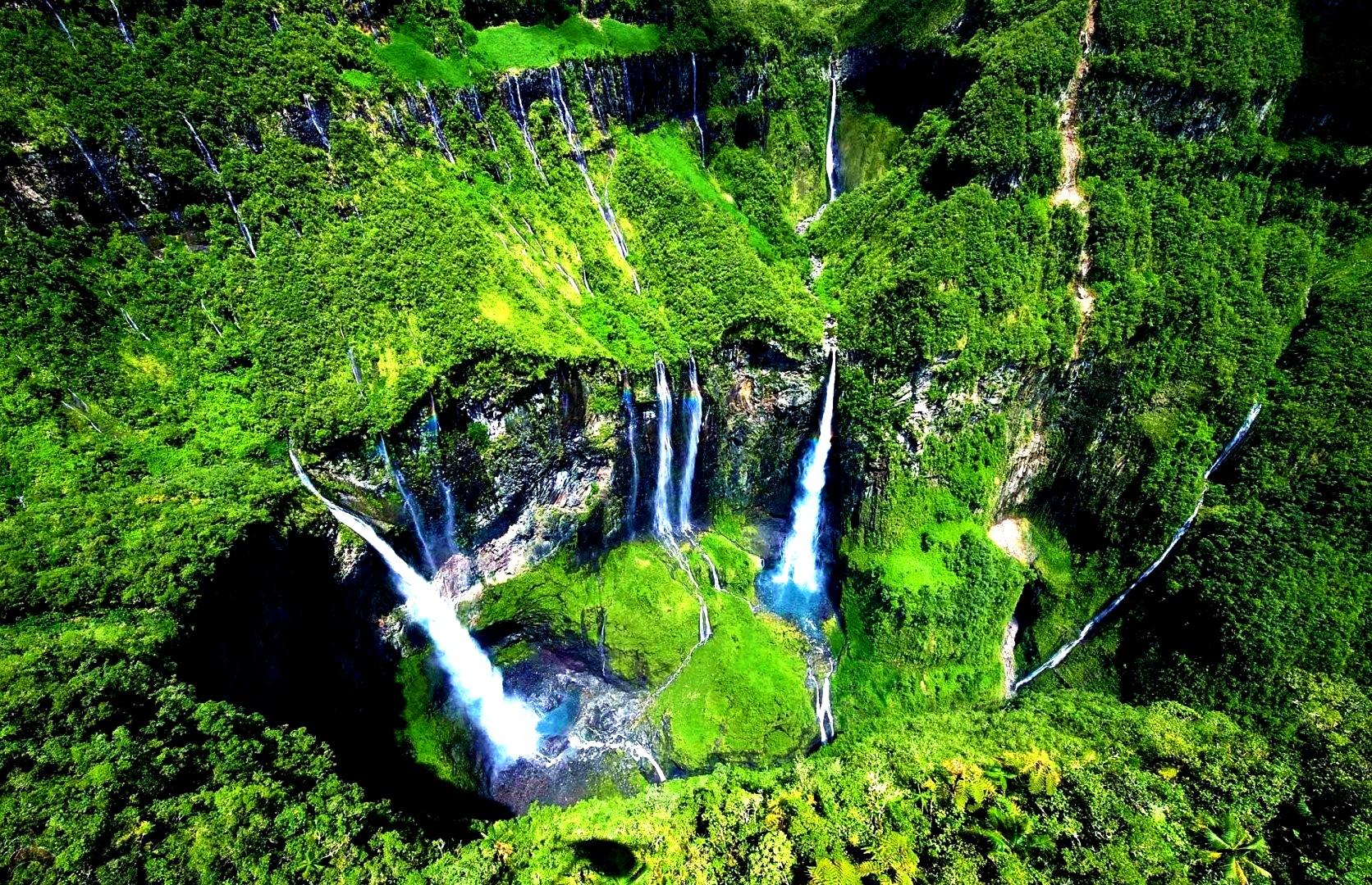 природные чудеса Реюньона