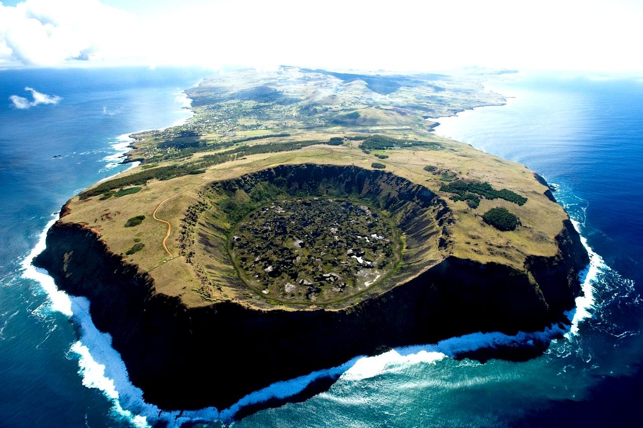 вулкан Рано Рараку