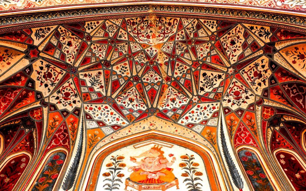 мозаика форта амбер