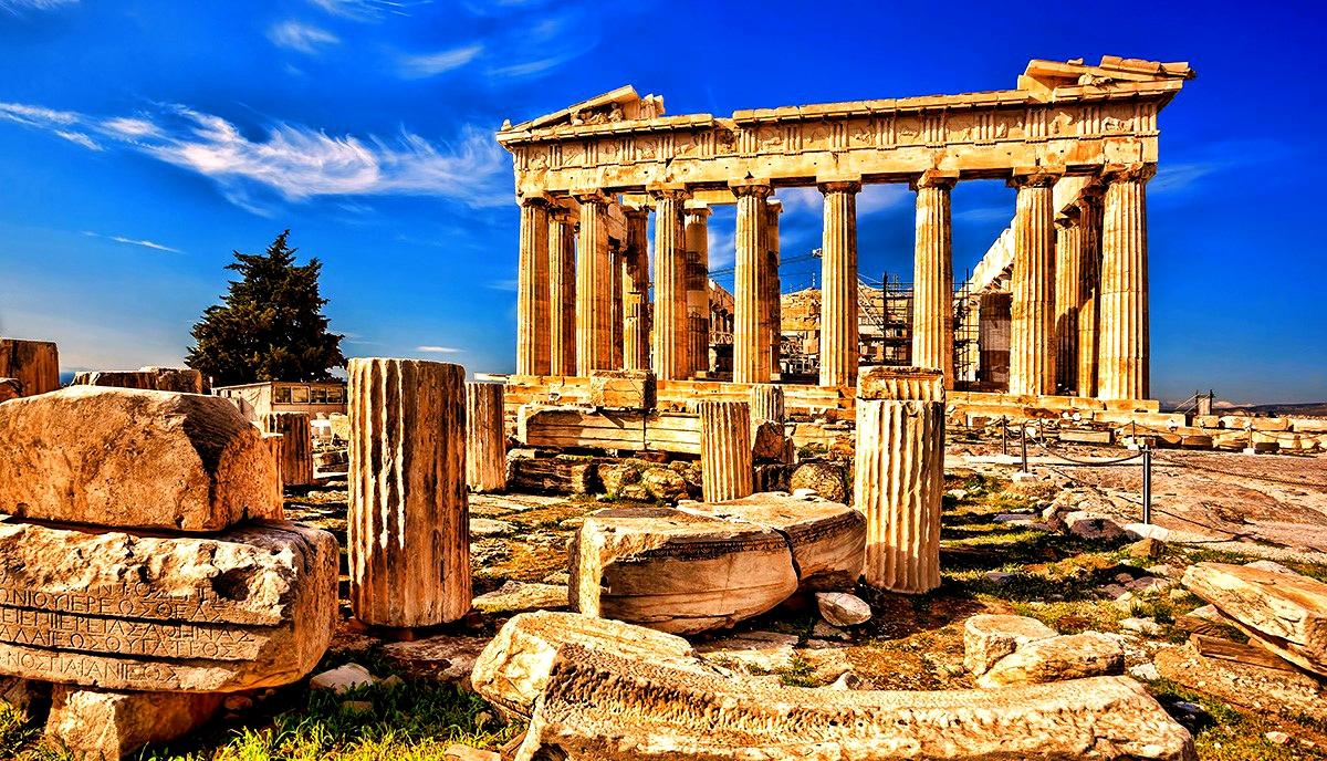 руины Парфенона
