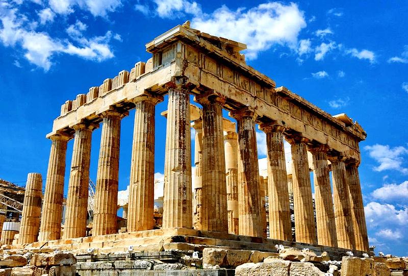 колонны Парфенона