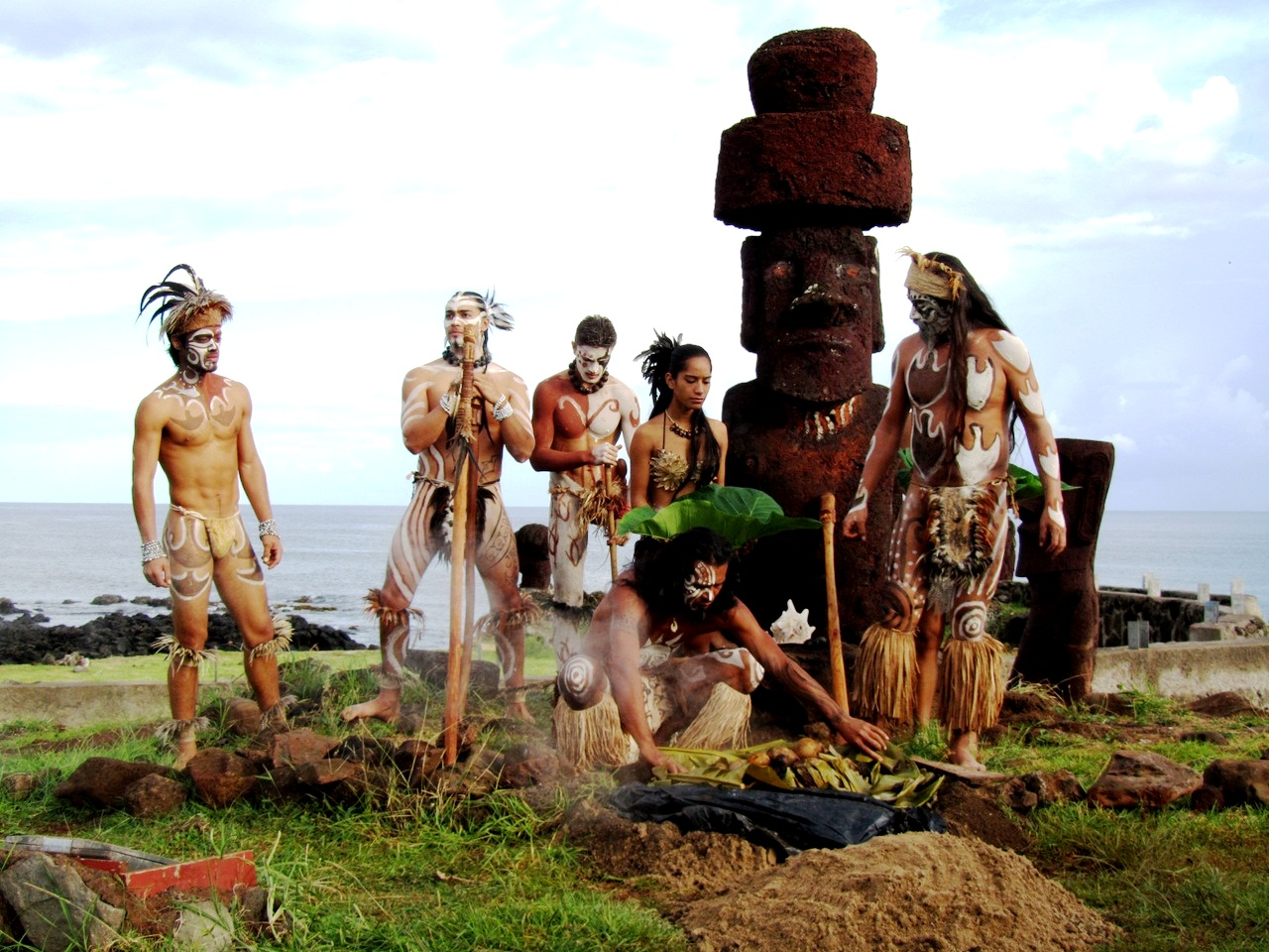 полинезийцы острова пасхи
