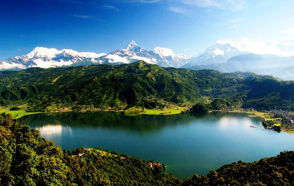 панорама парка сагарматха