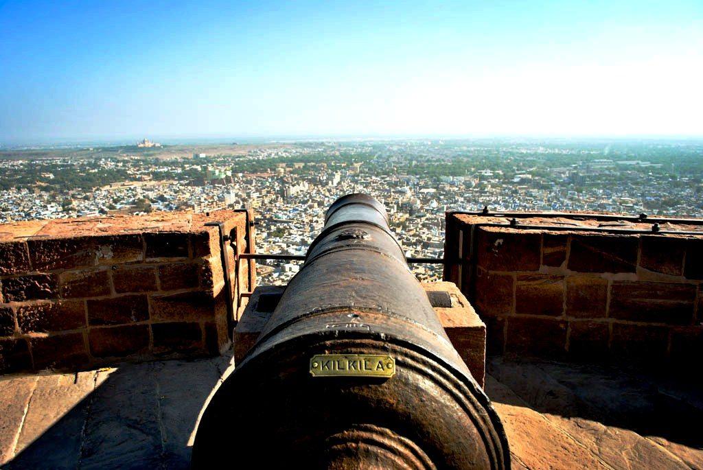 орудие форта мерангар