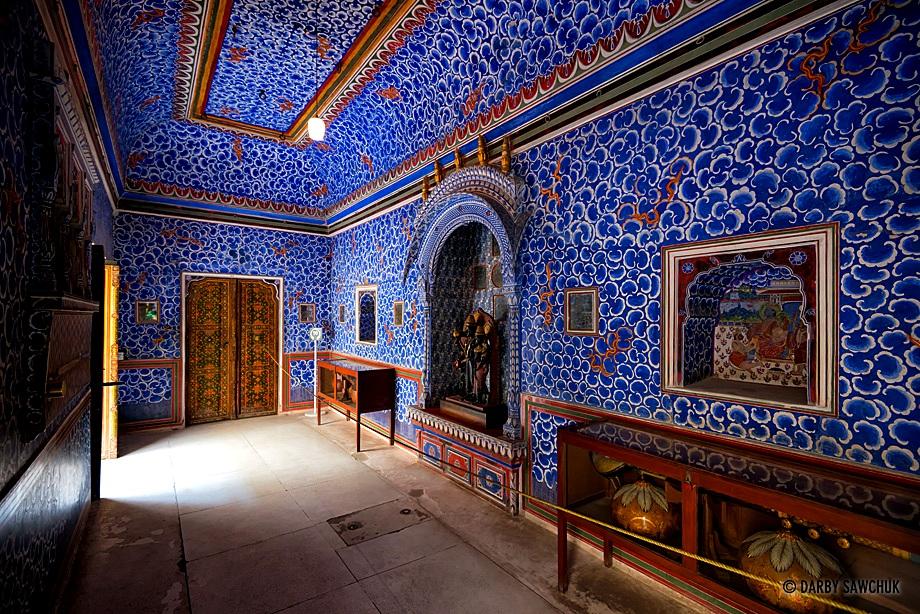 голубая комната джунагарха