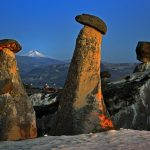 конусовидные скалы каппадокии