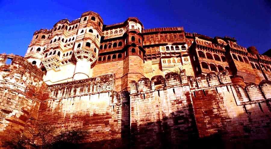 укрепленные стены мерангара
