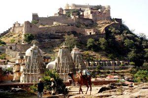 форт Кумбалгарх и верблюд