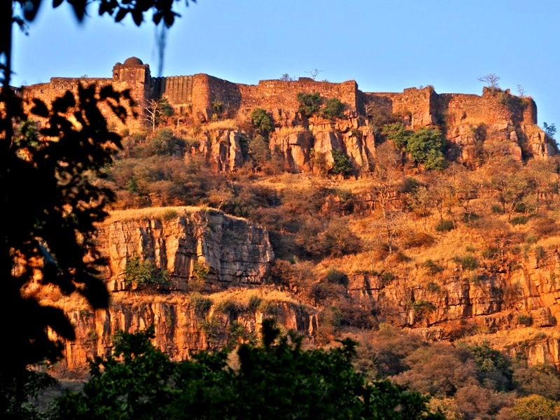 скалы рантхамбора