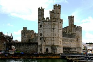 башни крепости карнарвон