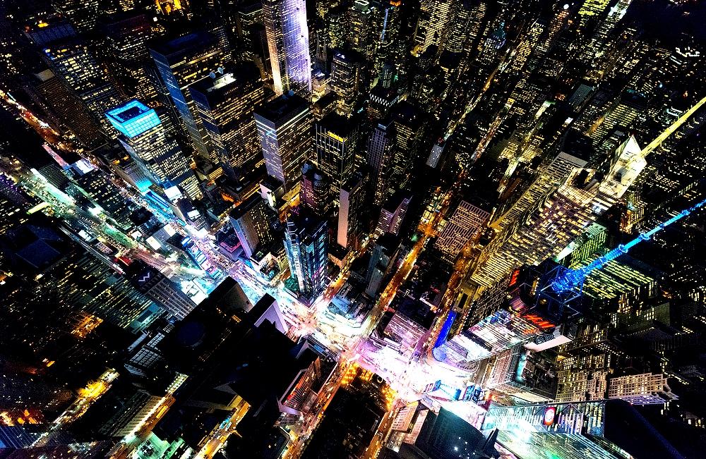 панорама Таймс сквер