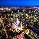 нью-йорк при свете звезд