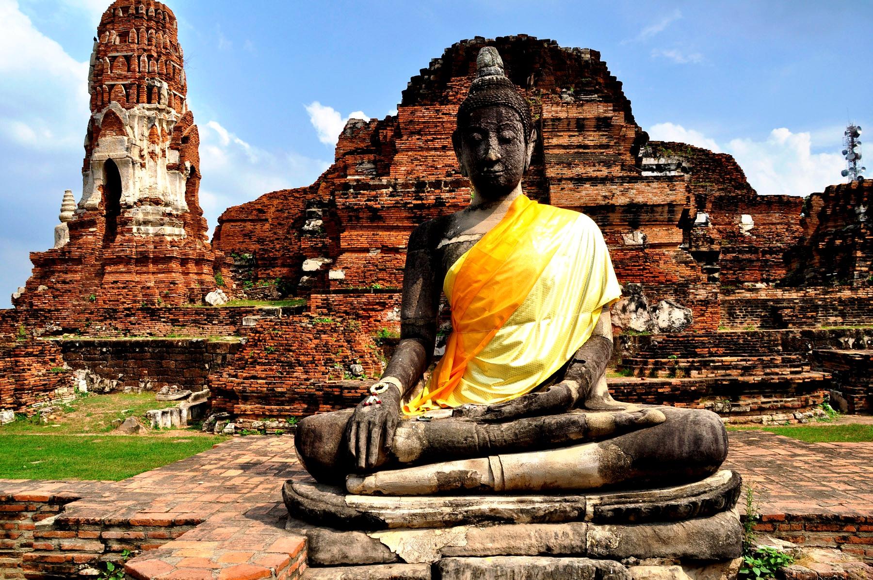сидящий Будда Аюттхаи