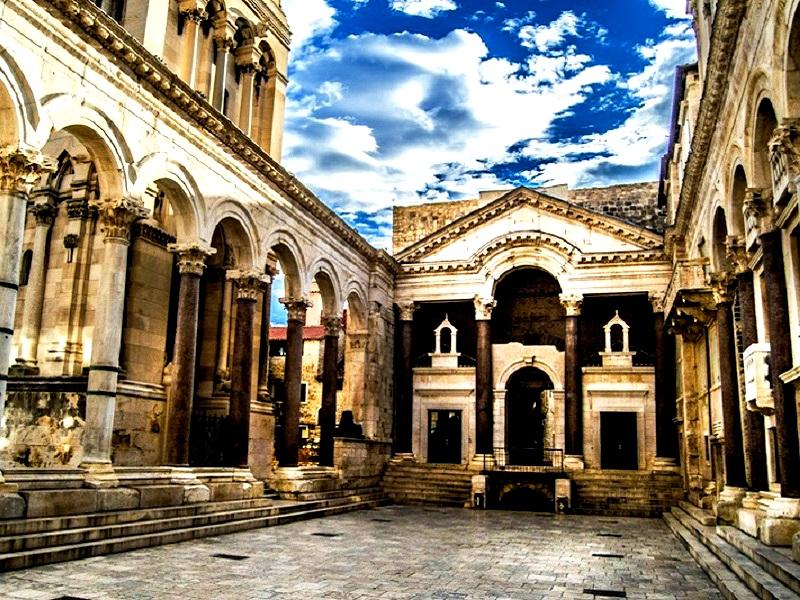 обзор дворца диоклетиана