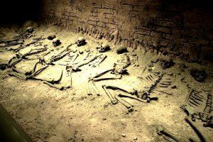 зал мертвых в храме Кецалькоатля