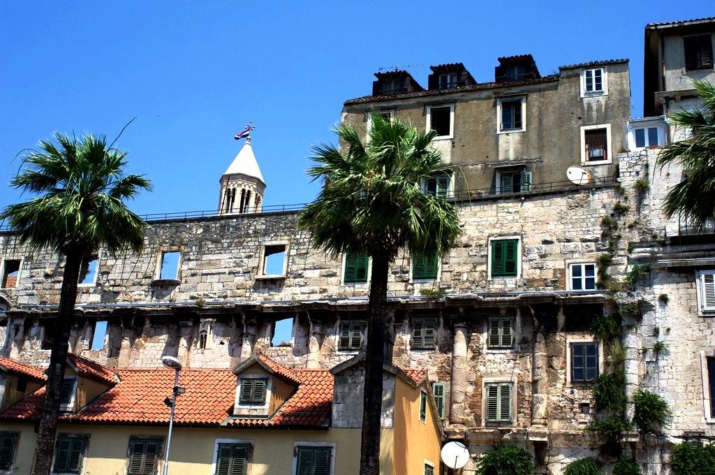 руины дворца диоклетиана
