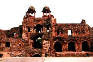 башни красного форта дели