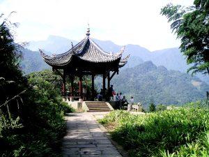 павильон горы Эмэйшань