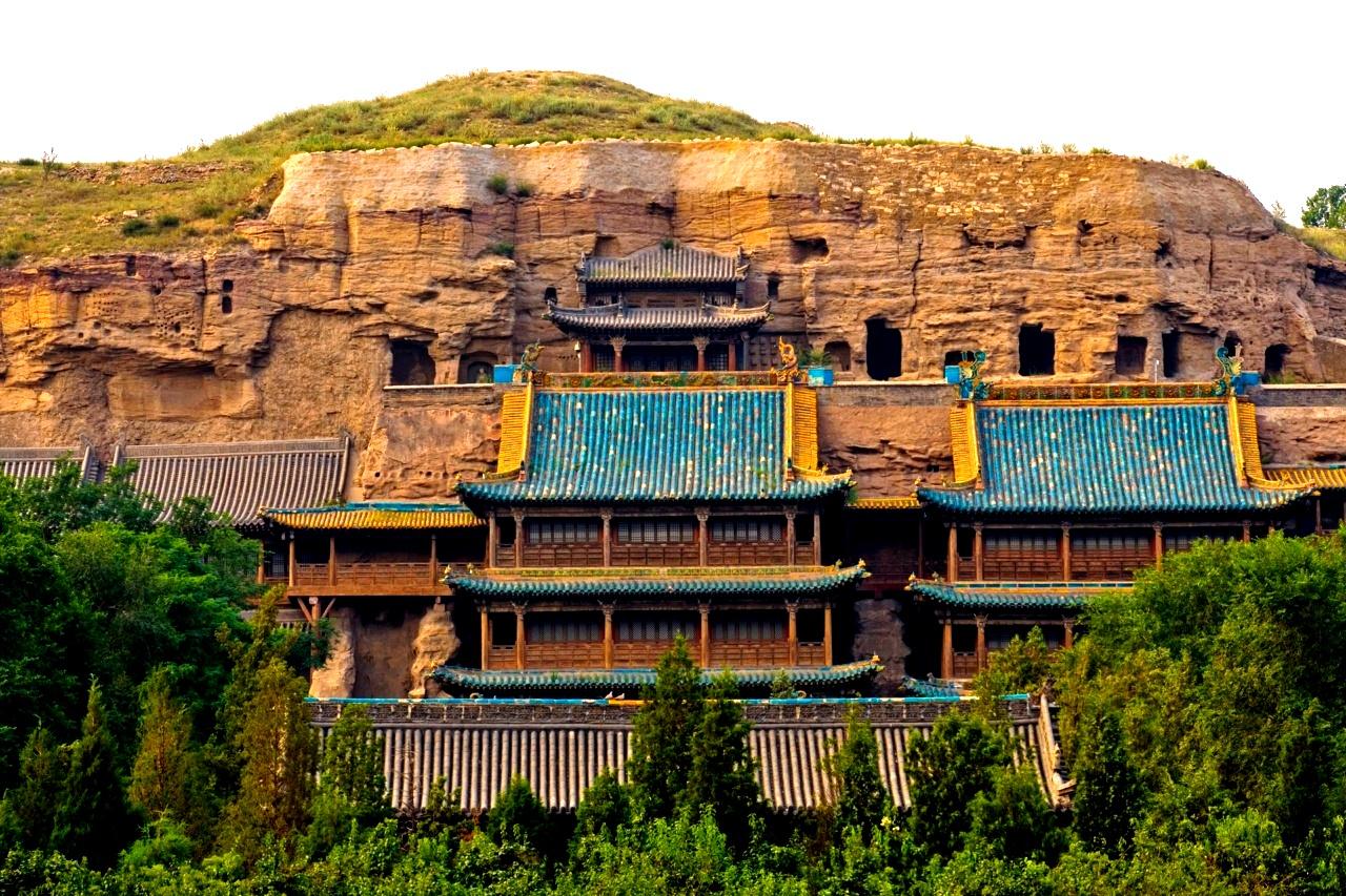 панорама Юньгана