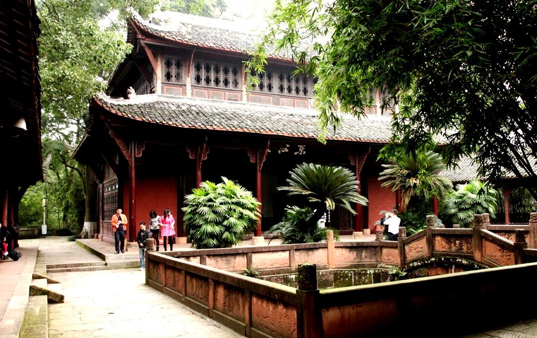 сад Будды в Лэшане