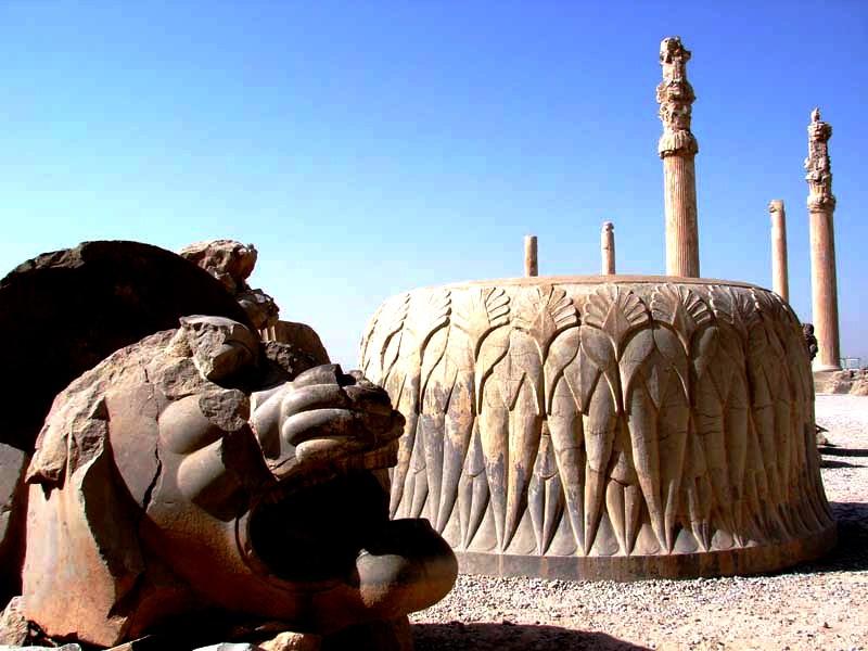 монолиты персеполя, фото ирана