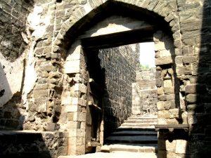 лестницы Даулатабада