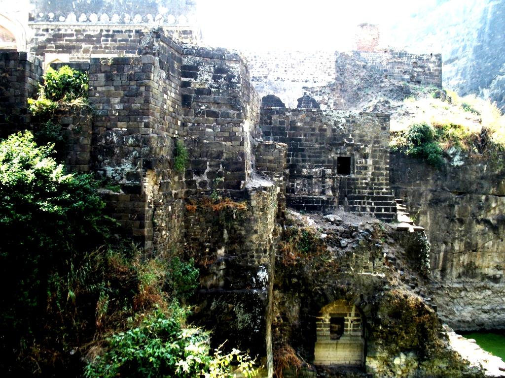мощь крепости Девагири