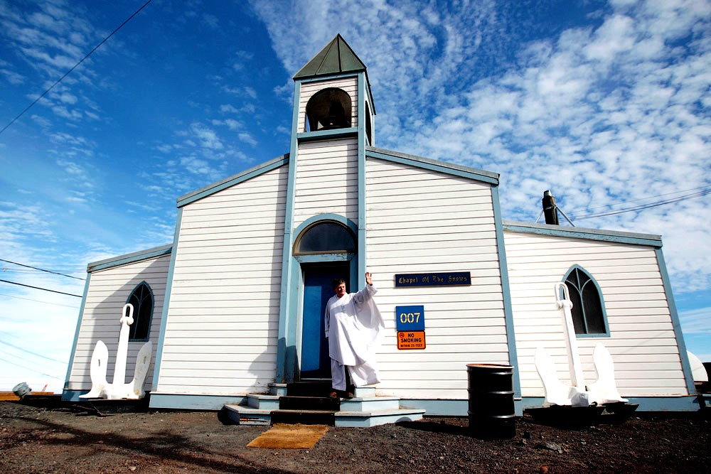 церковь снегов