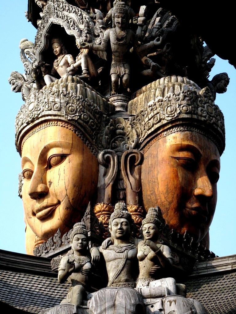 лица храма истины