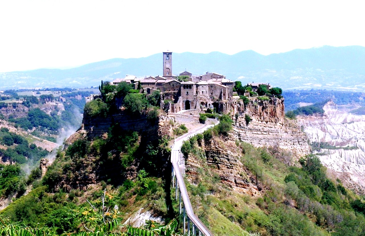панорама чивита ди баньореджо