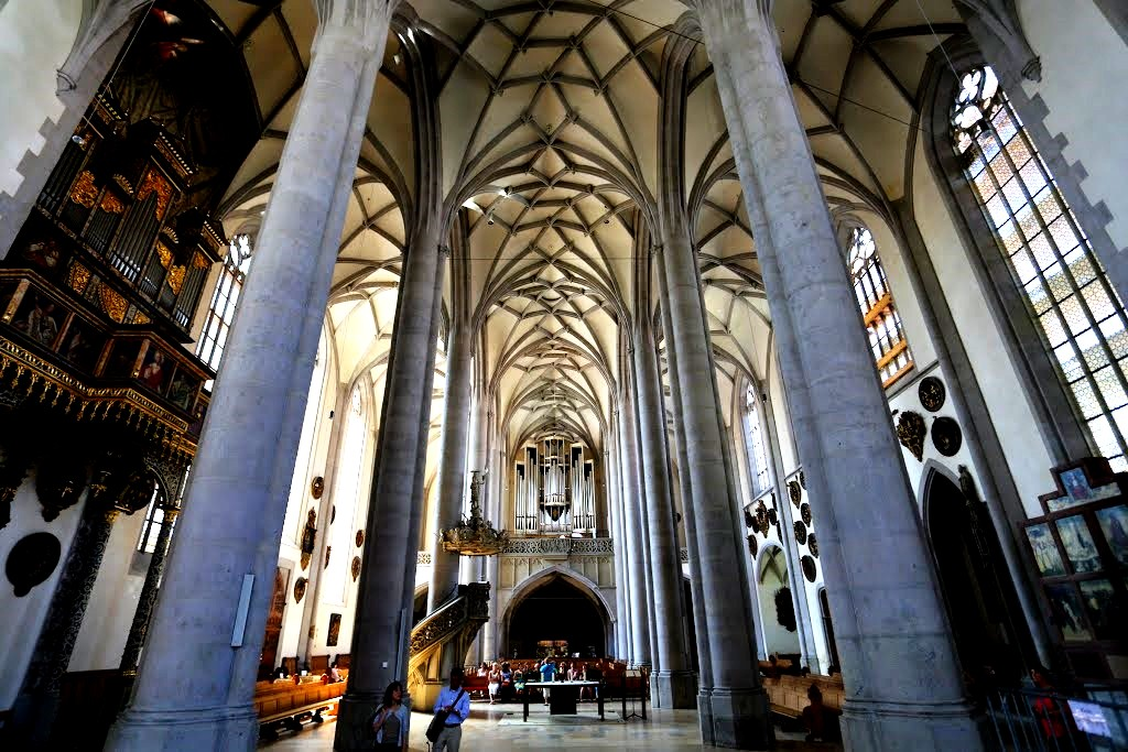 интерьер собора в Нордлингене