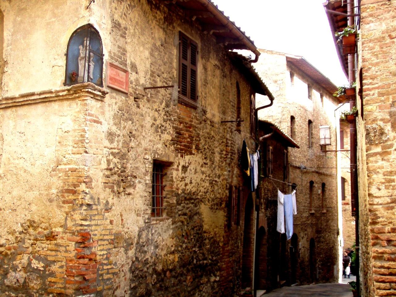 переулки сан-джиминьяно